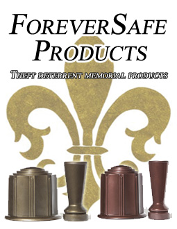 Rotomolded Cemetery Vases, Rotomolded Burial Urns, Water Tight Burial Urns, ForeverSafe Cemetery Vases, ForeverSafe Burial Urns